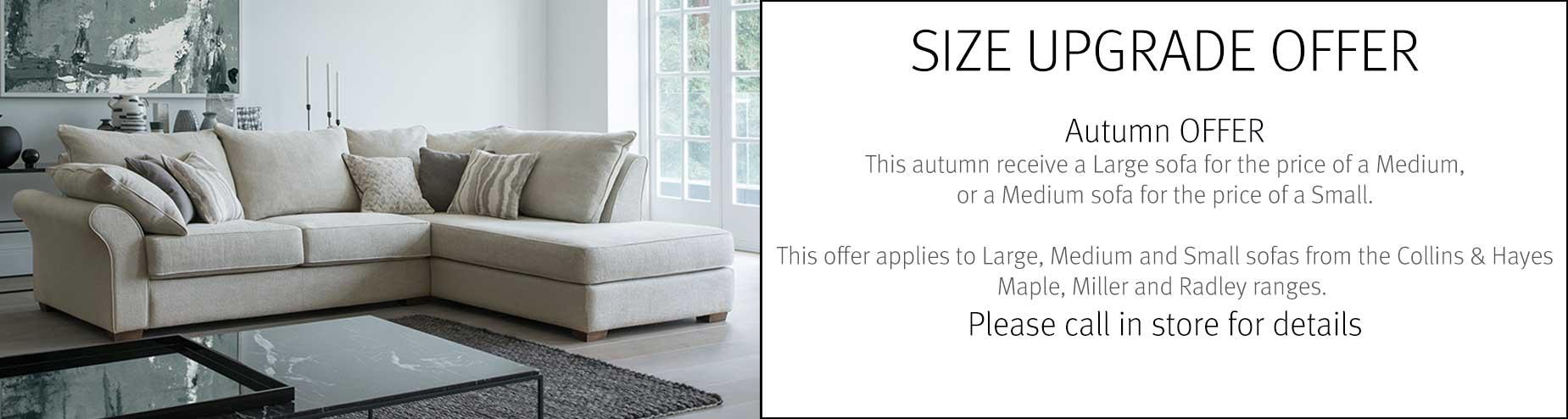Size Upgrade Offer