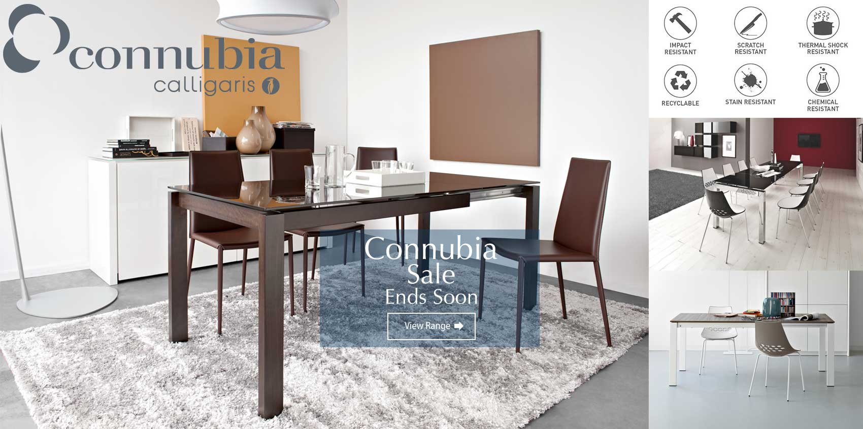Connubia by Calligaris Insitu Sale Ends Soon