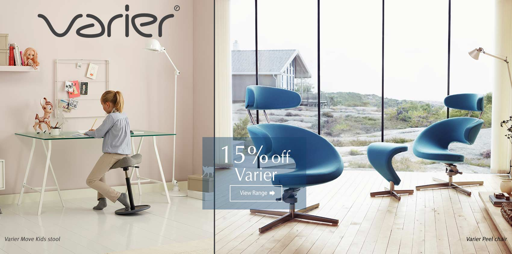 Varier sale now on at Insitufurniture.co.uk