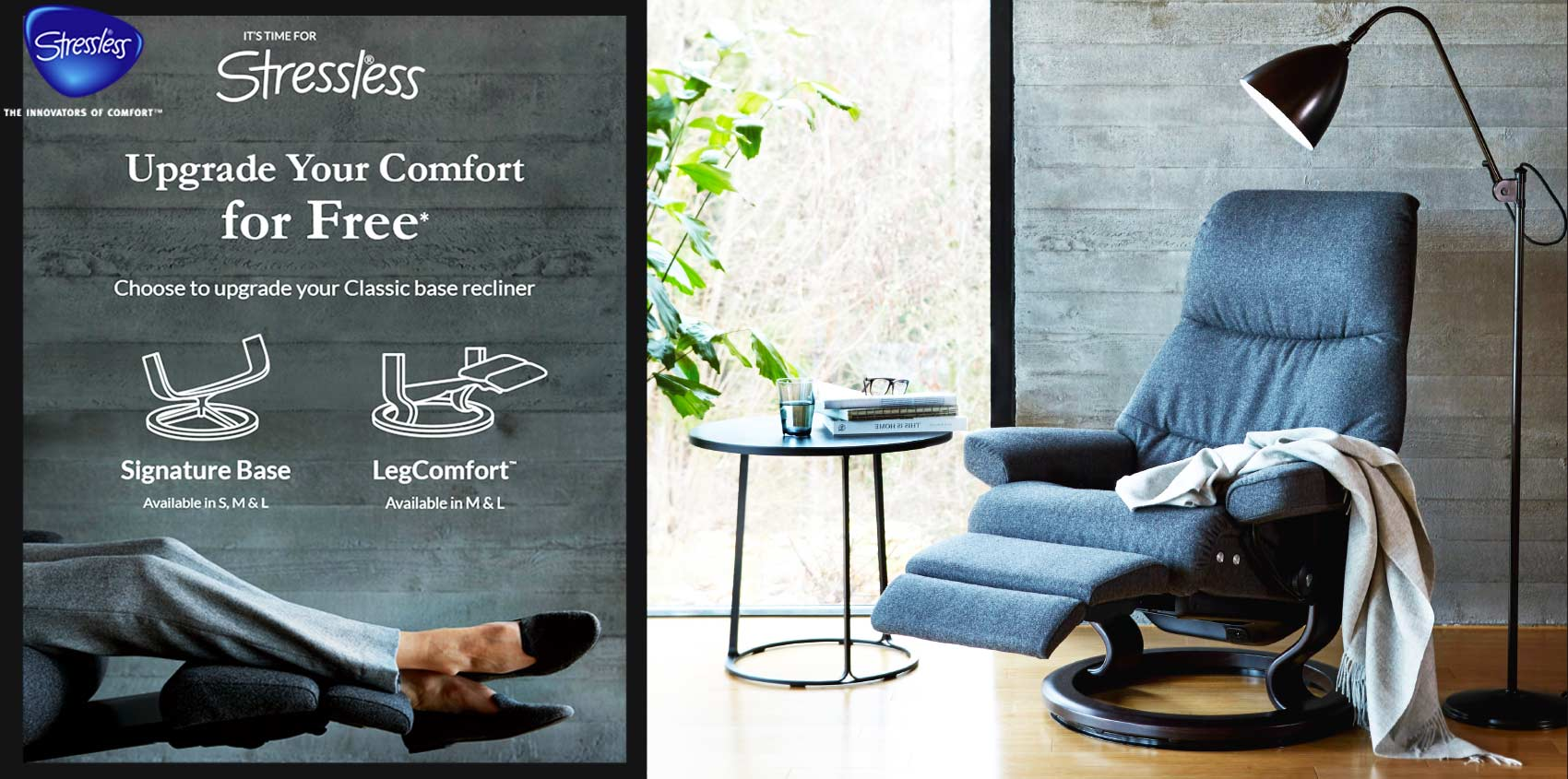Stressless Spring Comfort upgrade 2019