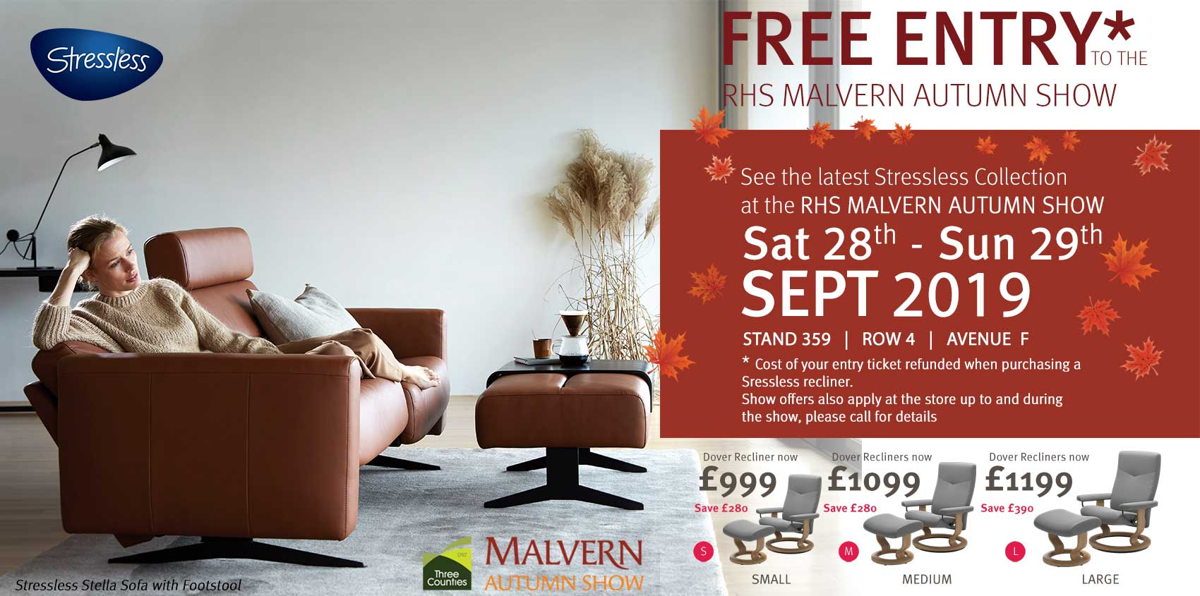 Insitu offers at the Malvern Autumn Show