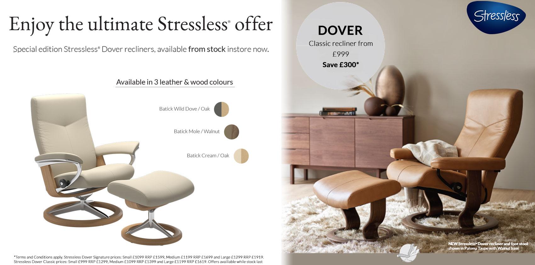 Stressless Dover Promotion 2020