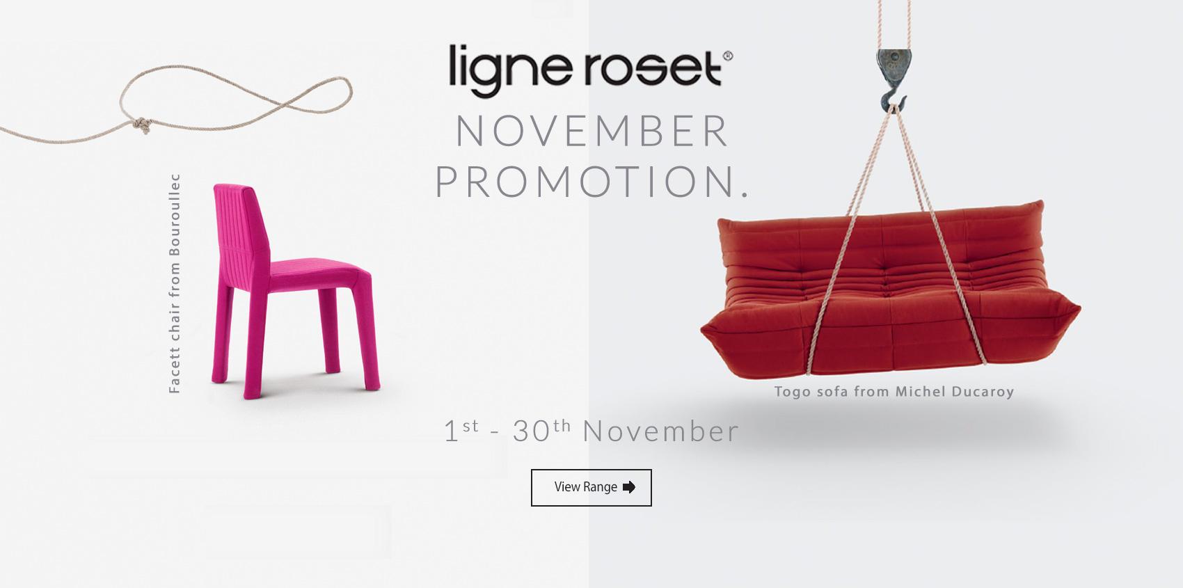 Ligne Roset Promotional Offer at Insitu Furniture