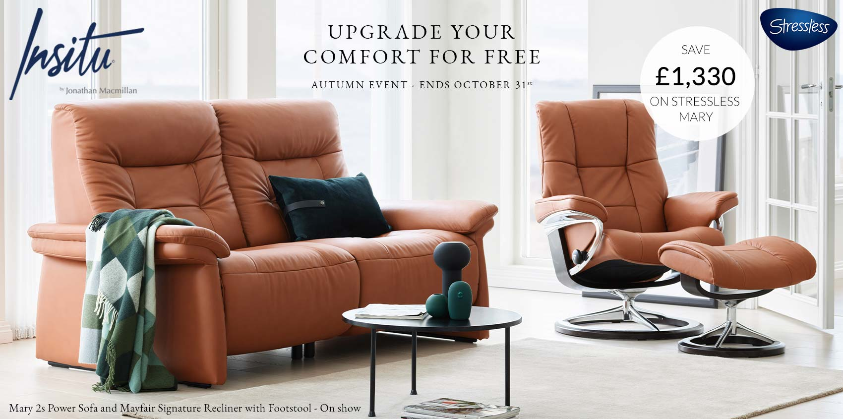 Stressless upgrade offer