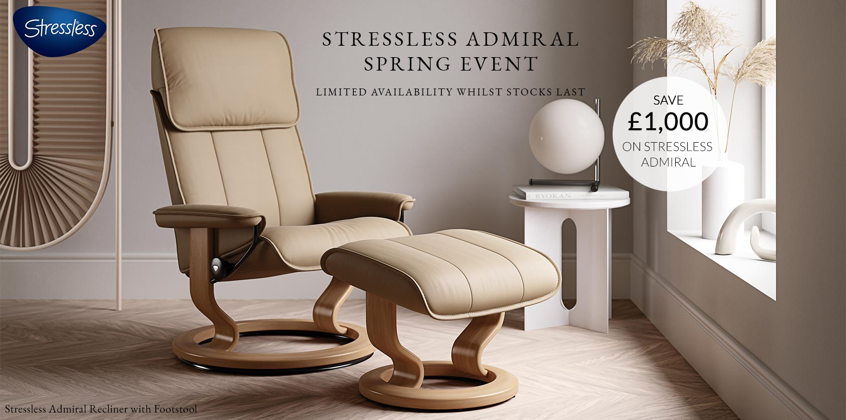 Stressless Admiral Promotion 2021
