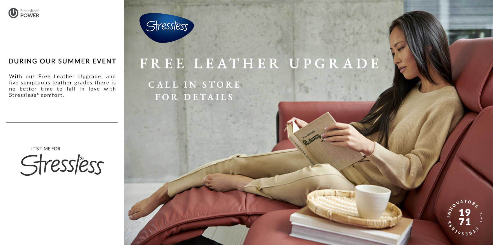 Insitu Stressless Free Leather Upgrade