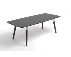 Style Sofa Table Black Brown legs