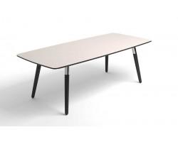 Style Sofa Table Cream Black legs
