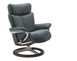 Stressless Magic Small Signature Base Recliner