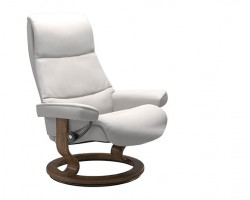 Stressless View Small Classic Base Recliner