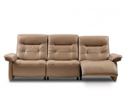 Stressless Mary 3 Seater Upholstered with Power Grade