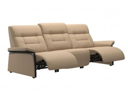 Stressless Mary 3 Seater Wood with Power