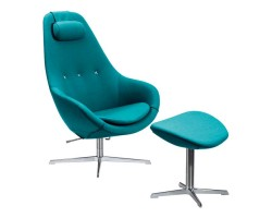 Varier Kokon chair with Footstool