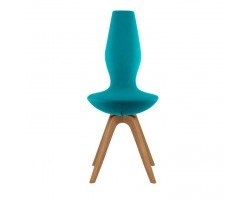Varier Date chair with oak legs