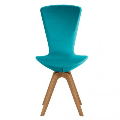 Varier Invite chair with oak legs