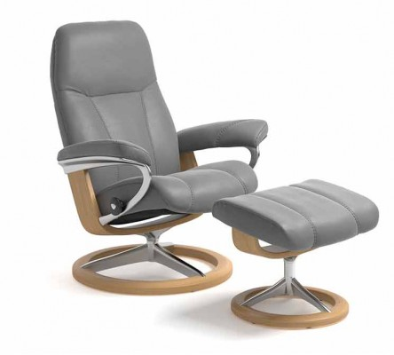 Consul Recliner and Footstool