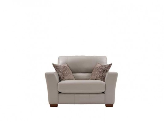 Lazia Leather Cuddle Chair